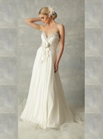 Embellished Strapless Full-Length Dress by Nicole Bakti